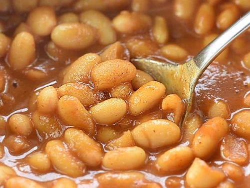 Quick Baked Beans Just 5 Ingredients 10 Minutes Fivehearthome