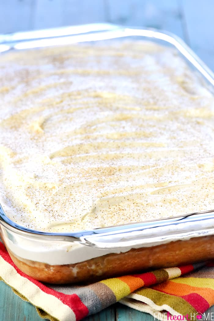 Tres Leches Cake Close-Up