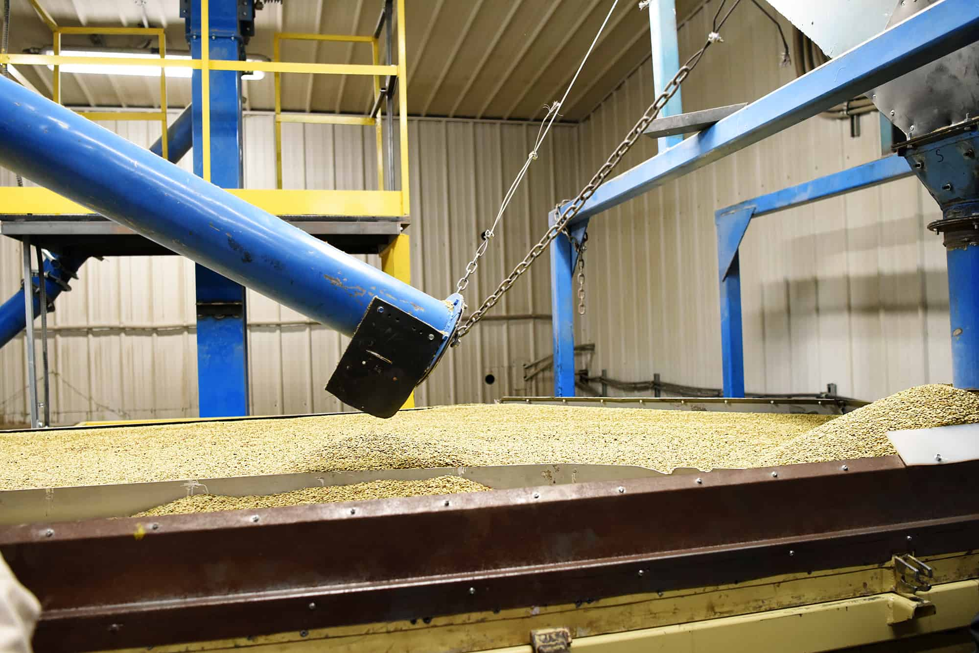 Seed Cleaning Plant, Simpson Seeds Inc.