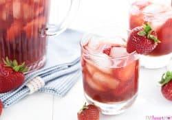 Strawberry Iced Tea