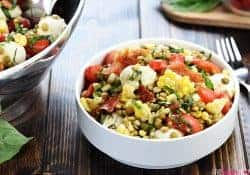 Summer Lentil Salad + Lentils.org Farm-to-Table Trip