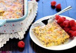 Ground Beef, Egg, & Cheese Breakfast Casserole