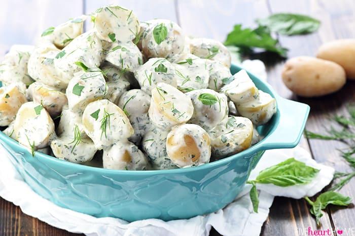 Herb & Greek Yogurt Potato Salad