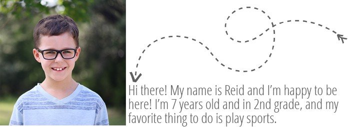 Kids in the Kitchen Guest Post with Pic of 7-Year-Old Reid