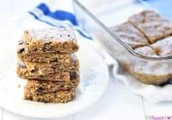 Oatmeal Peanut Butter Energy Bars