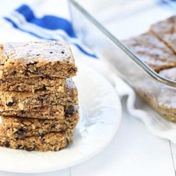 Oatmeal Peanut Butter Energy Bars