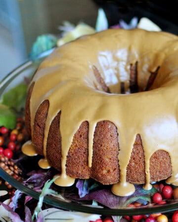 The Best Pumpkin Recipes featured image, showing Pumpkin Bundt Cake.