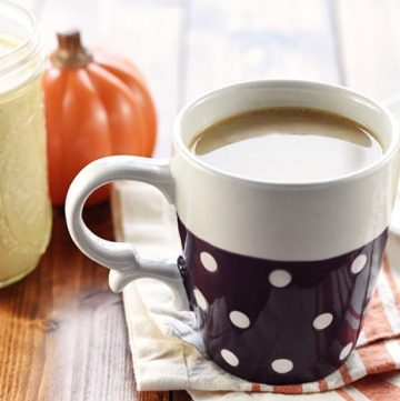 All-Natural Pumpkin Spice Coffee Creamer