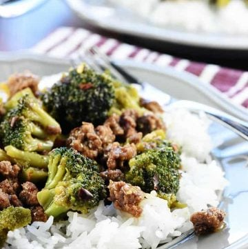 Ground Beef & Broccoli + VIDEO
