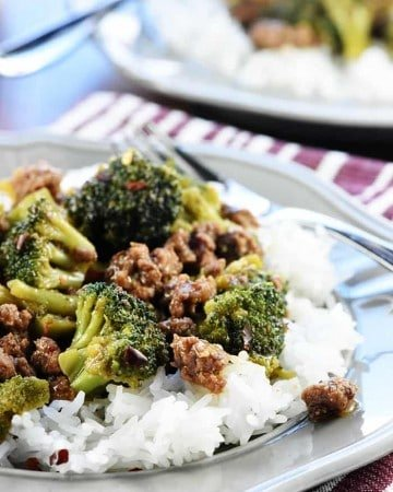 Delicious Ground Beef Broccoli Fivehearthome
