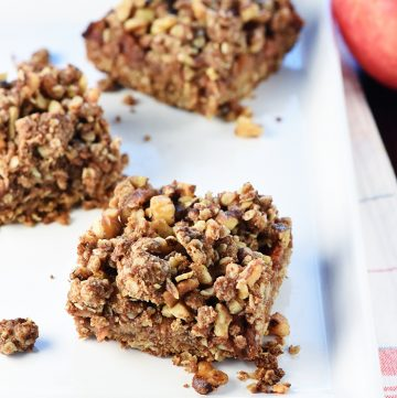 Healthy Apple Butter Bars