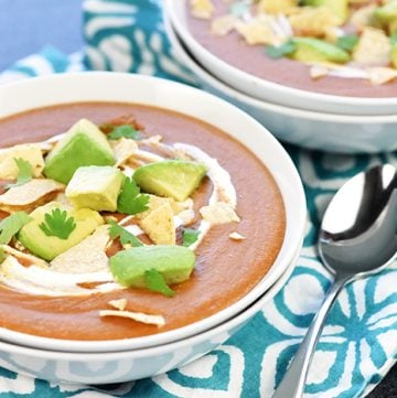 Crock Pot Mexican Red Lentil Soup Recipe