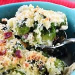 Brussel Sprouts Gratin Gruyere