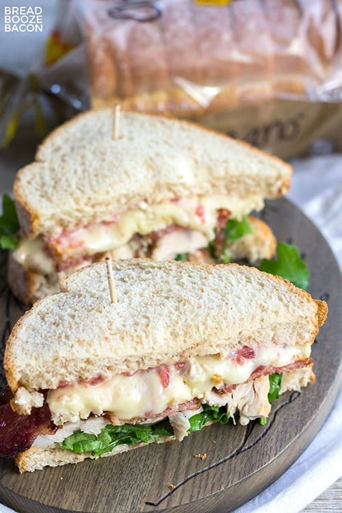 Cranberry, Brie, & Bacon Turkey Sandwich