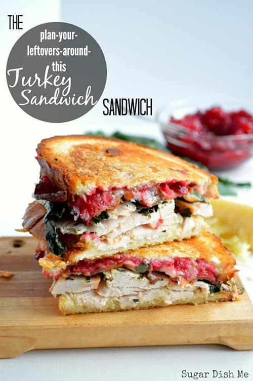 The Best Leftover Turkey Sandwich