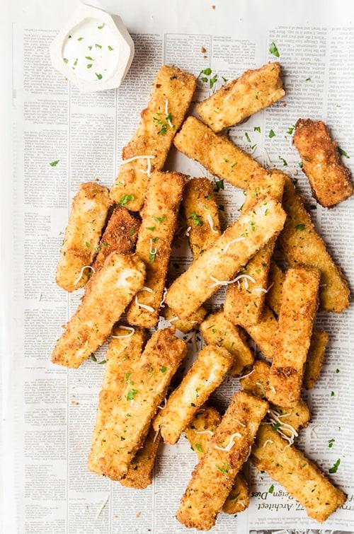 Mashed Potato Fries