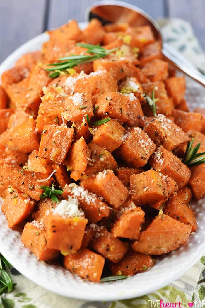 Recipe for Roasted Sweet Potatoes in the Oven