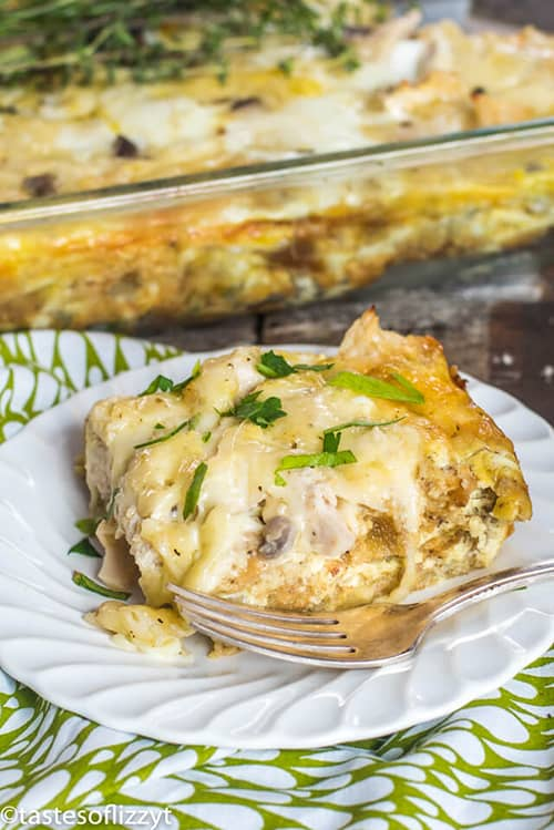 Thanksgiving Leftovers Breakfast Casserole
