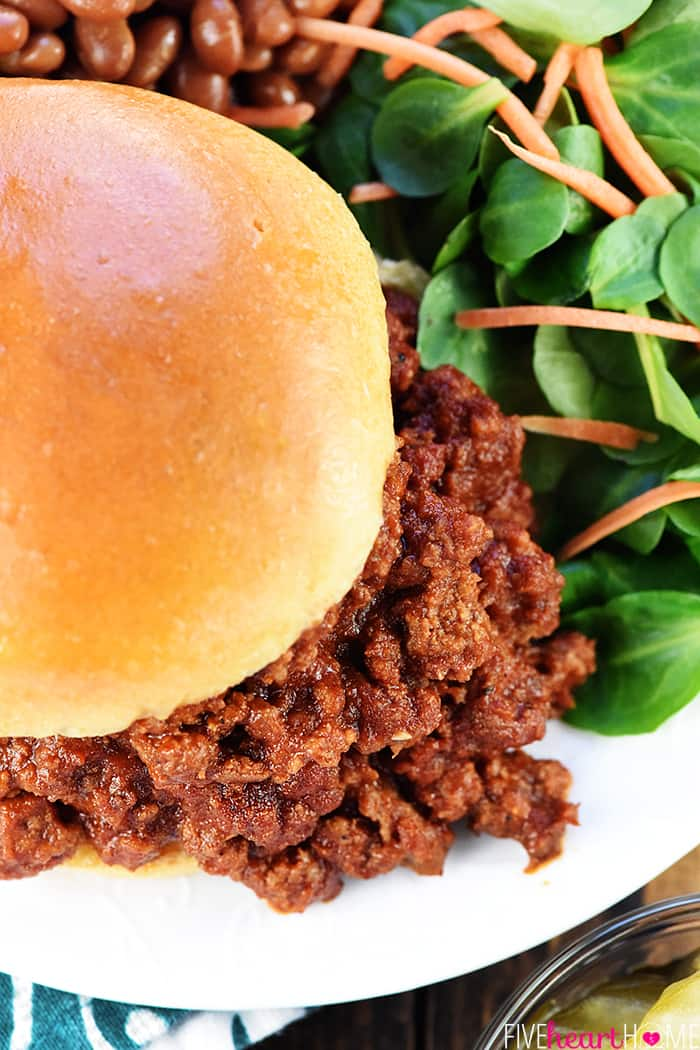 The best homemade sloppy joes easy sloppy joe recipe forumfinder Images