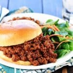 The BEST Homemade Sloppy Joes ~ delicious as well as quick and easy to make using real ingredients in lieu of a store-bought can of sauce! | FiveHeartHome.com