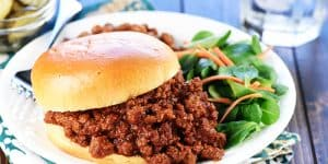 Homemade Sloppy Joes ~ with Recipe Video!