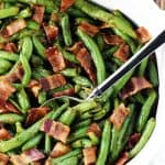 Bacon Green Bean Casserole from Scratch