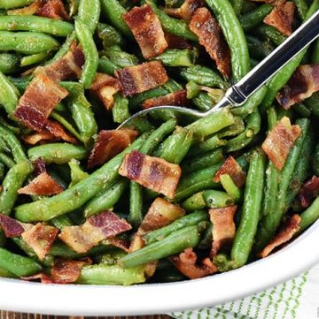 Bacon Green Bean Casserole Recipe