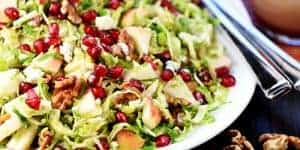 Holiday Brussels Sprouts Salad