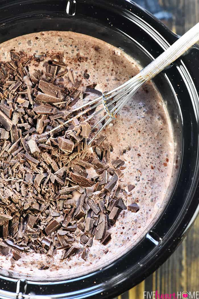 Creamy Crock Pot Hot Chocolate