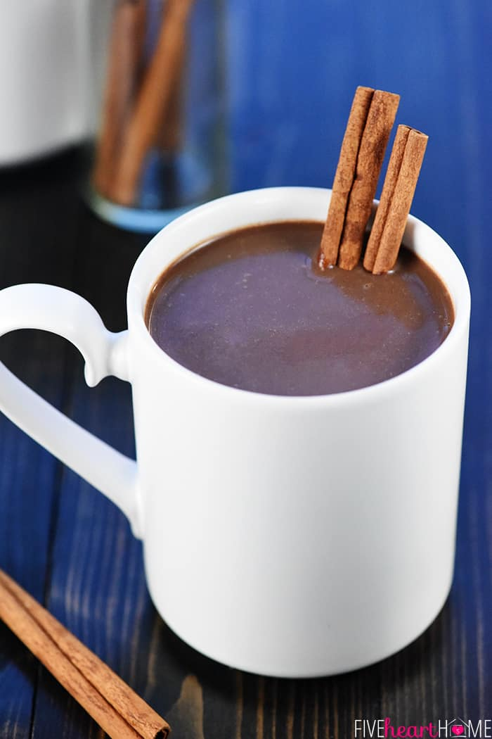 Slow Cooker Mexican Hot Chocolate