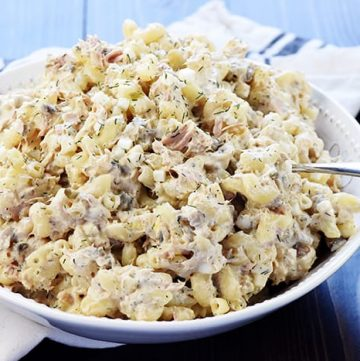 Pasta Salad with Tuna and Egg