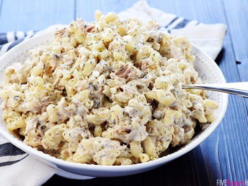 Classic Tuna Pasta Salad Fivehearthome