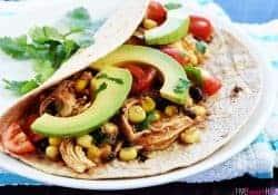 Instant Pot Chicken & Black Bean Tacos {or} Burrito Bowls