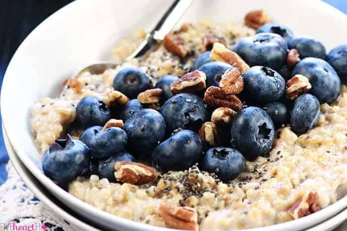 Make-Ahead Freezer Steel Cut Oats