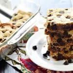 Easy One-Bowl Blondies ~ quick to make and completely customizable, from classic chocolate chips to your favorite chocolate candy, nuts, coconut, and more! | FiveHeartHome.com