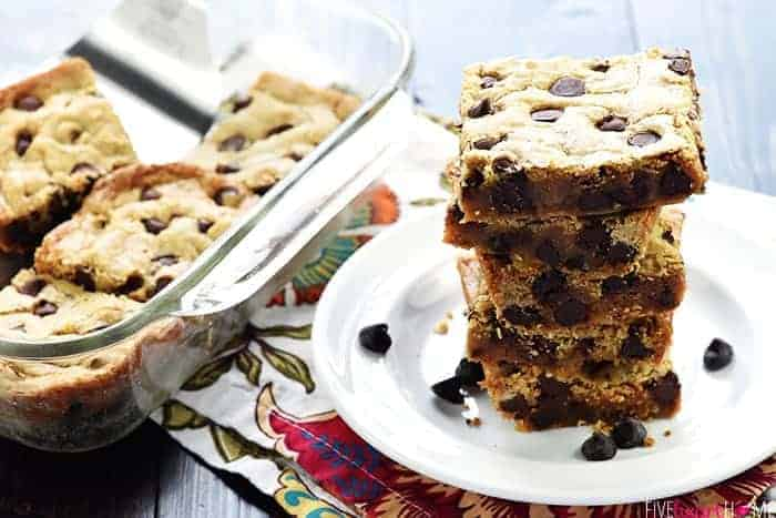 Easy One-Bowl Blondies