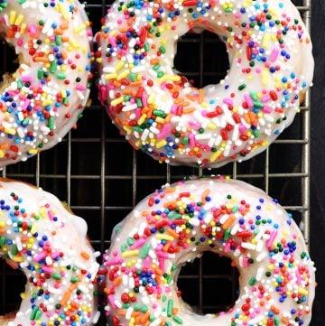 Glazed Baked Donuts