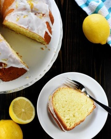 Lemon Pound Cake from Scratch