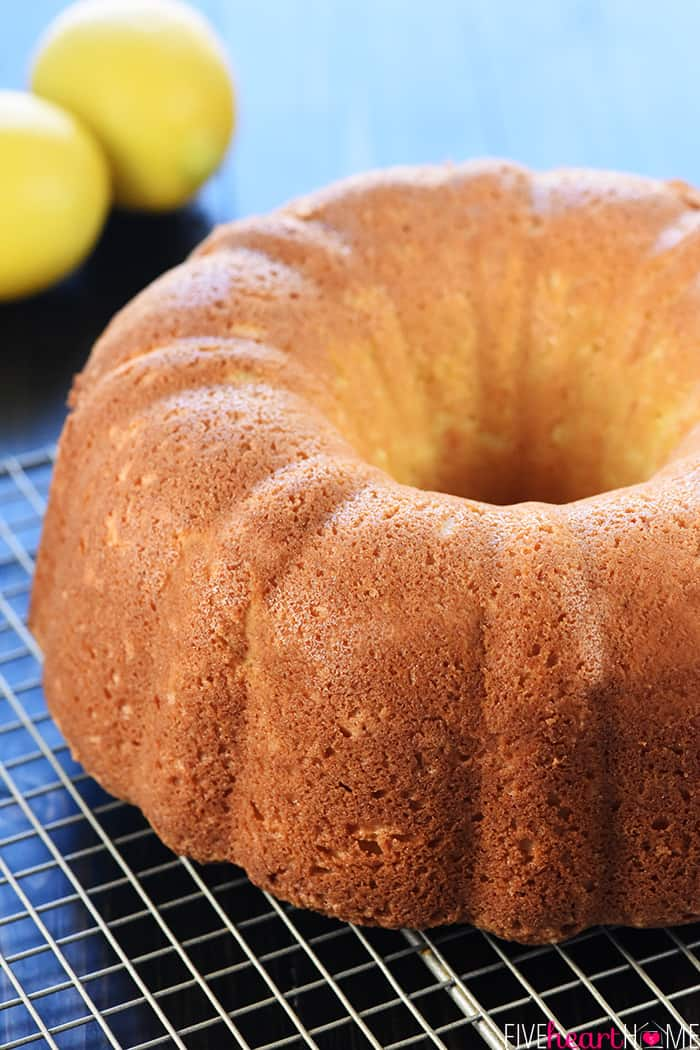 Lemon Bundt Cake Epicurious