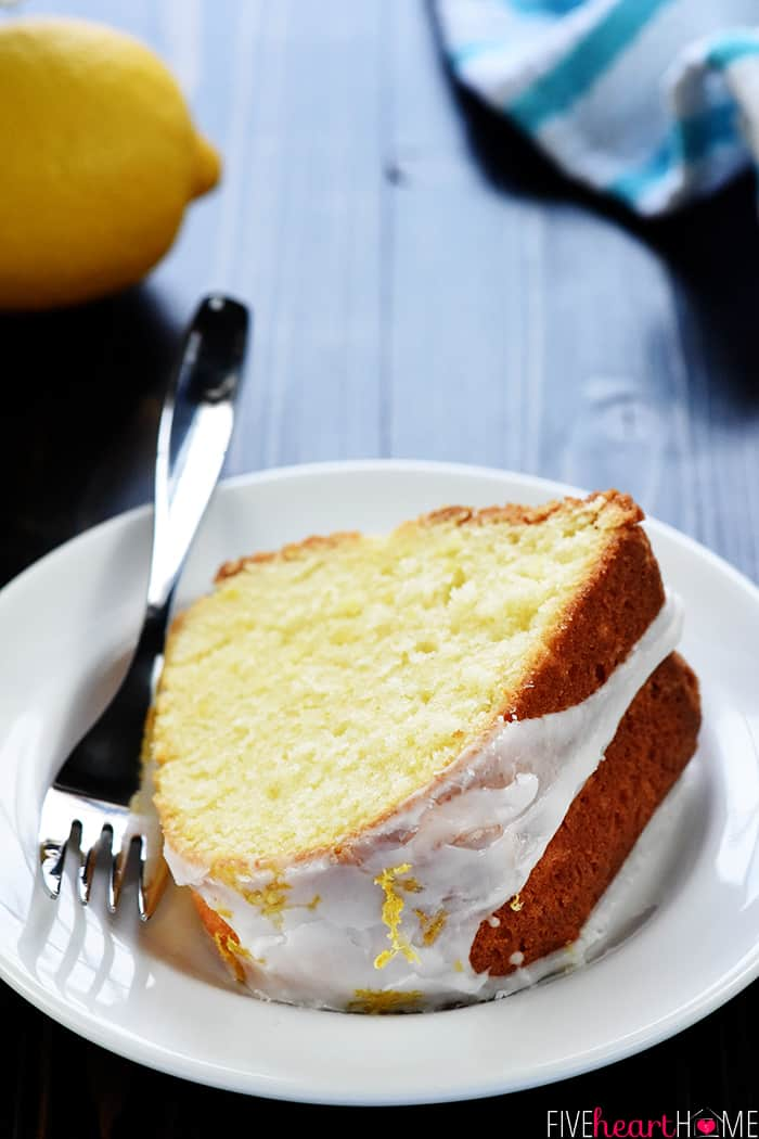 Sour Cream Lemon Pound Cake