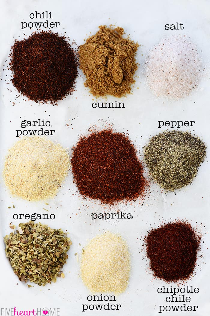 Spices for How to Make Taco Seasoning