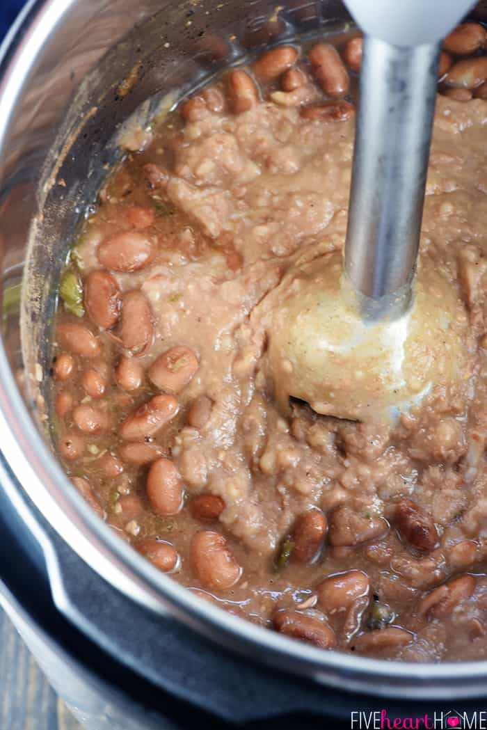 Refried Beans Instant Pot