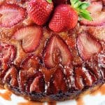 Strawberry Upside-Down Cake Recipe