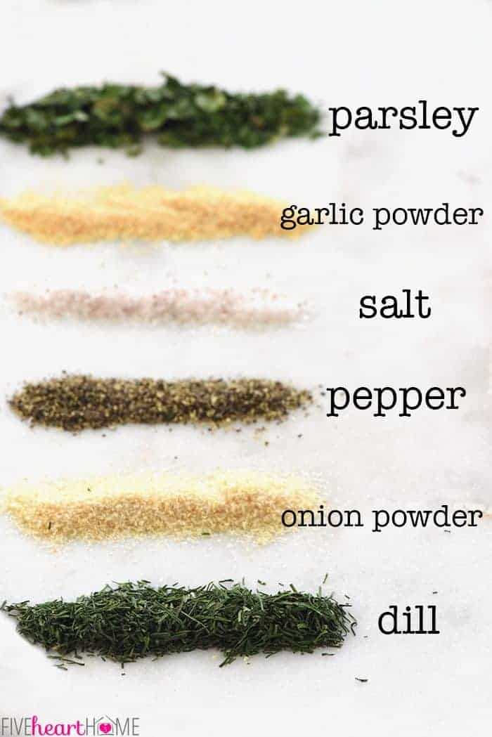 How to Make Homemade Ranch Dressing Mix