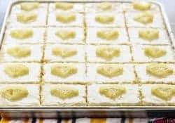 Lemon Texas Sheet Cake + Five Heart Home's 5th Blogiversary!