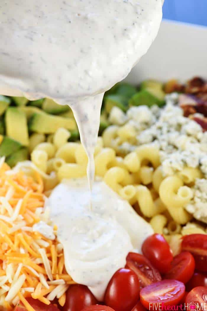 Pasta Salad with Ranch