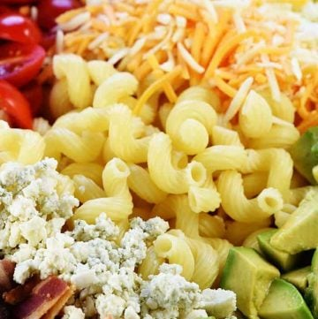 Cobb Pasta Salad + Blog Makeover!
