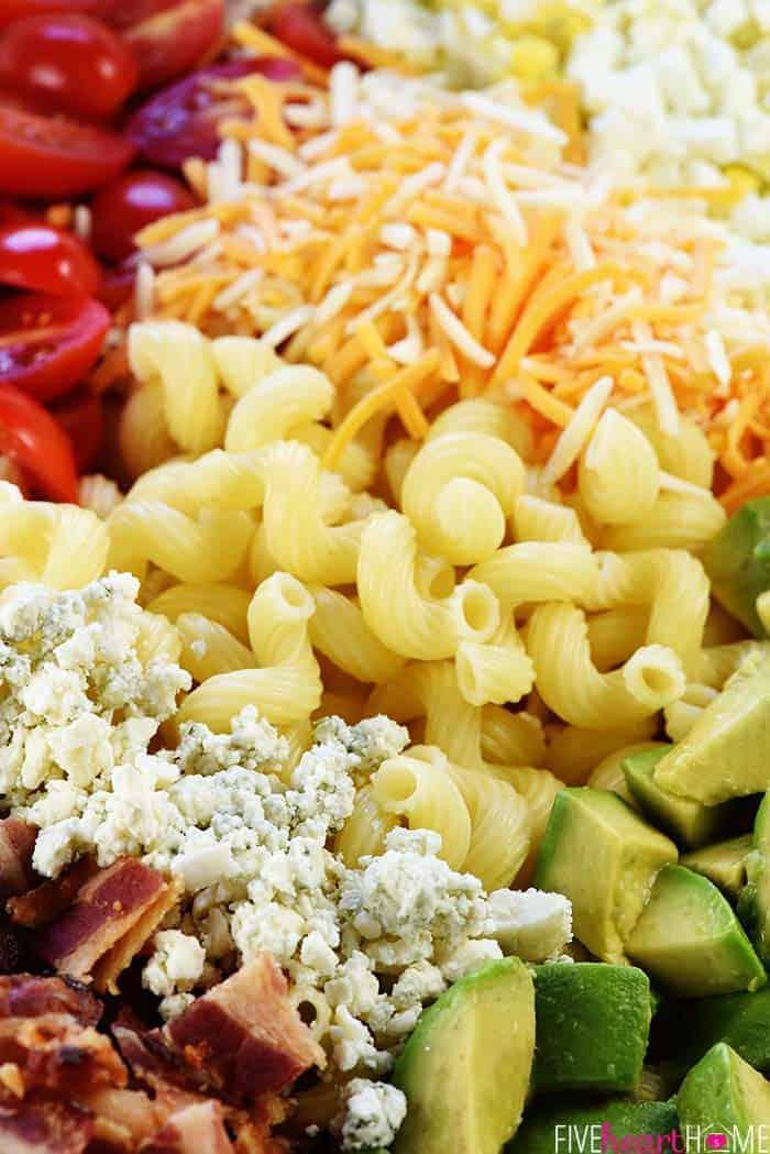 California Cobb Pasta Salad