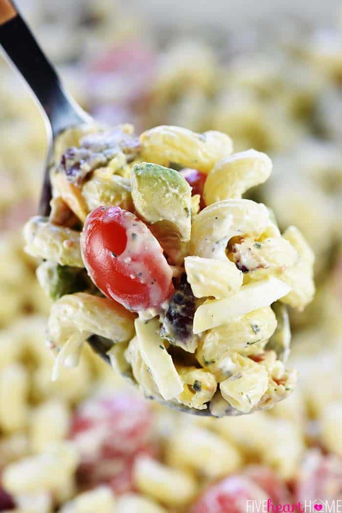 Spoonful of California Cobb Pasta Salad