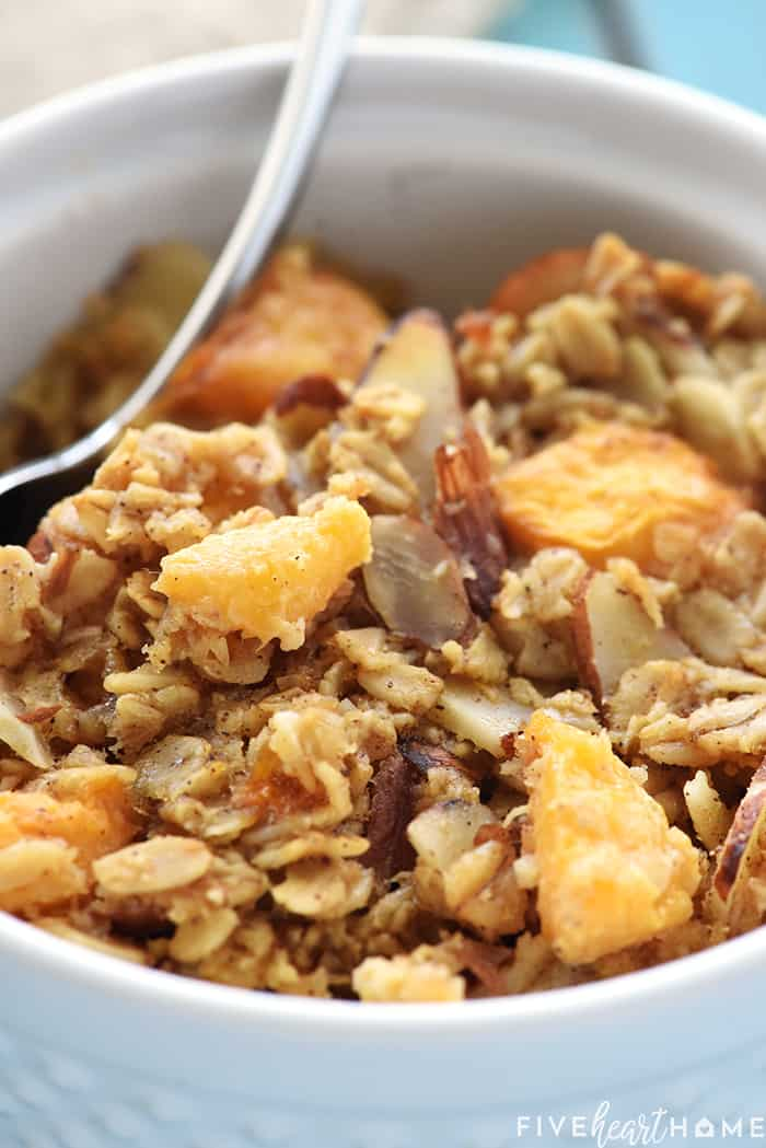 Peach Baked Oatmeal Recipe